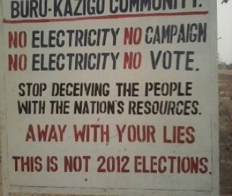 No electricity, no campaigning – Buru-Kazigo Chief declares