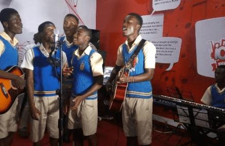 Vodafone Ghana presents Accra Academy with music studio