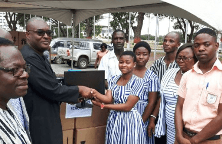 GIFEC provides ICT equipment to 59 educational institutions