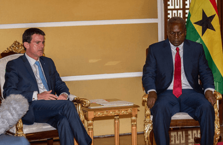 France to increase investments in Ghana – Manuel Valls