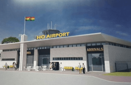 Mahama commissions first phase of Ho Airport