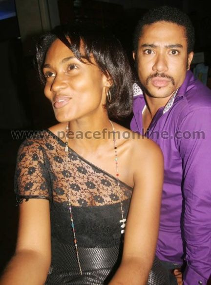 Majid Michel's Wife At The Beast Premiere