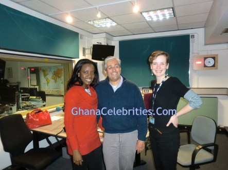 Shirley Frimpong Manso At BBC Studios, London