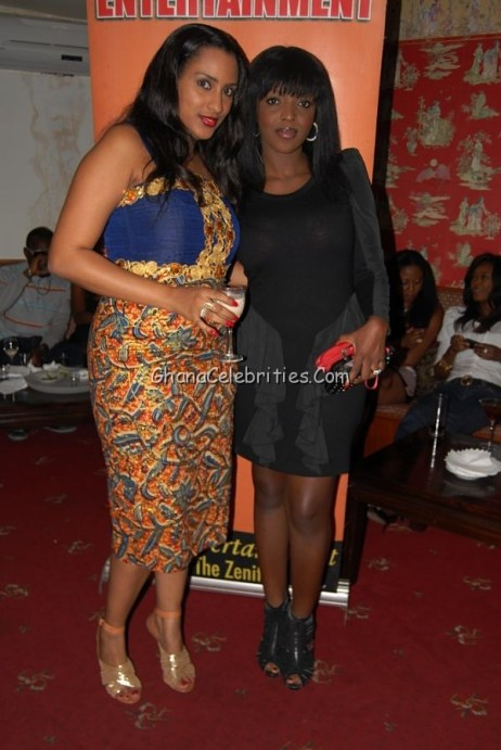 Juliet Ibrahim & Yvonne Okoro @ Juliet's Birthday Party