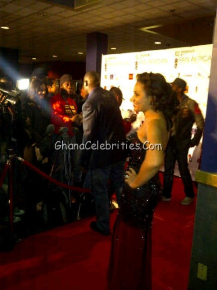 Nadia Buari In Her So Called Oscar De La Renta Gown