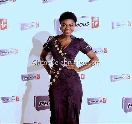 Becca At MTN Ghana Music Awards 2011