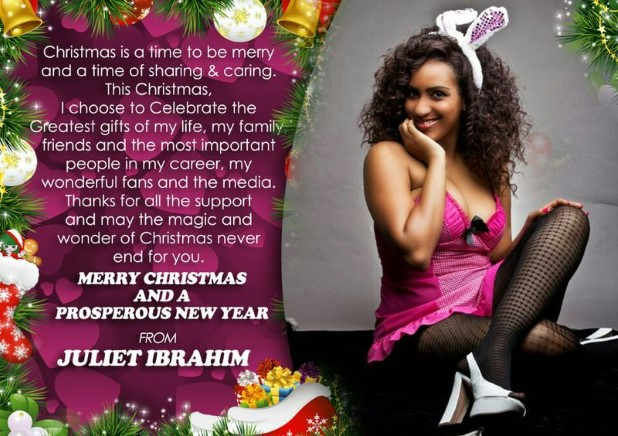 Juliet Ibrahim Season Greetings