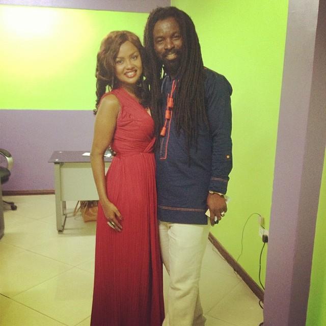 Nana Ama McBrown and Rockie Dawuni