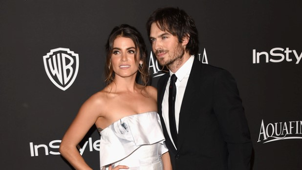 Ian Sommerhalder and Nikki Reed