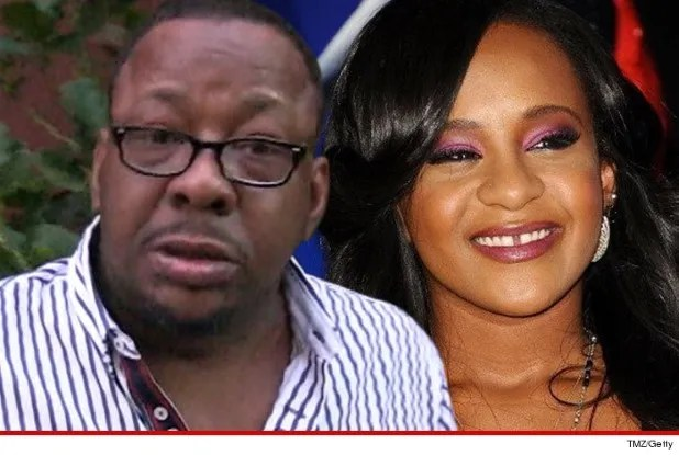 Bobby Brown and Kristina