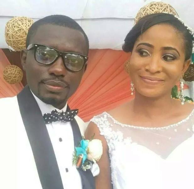 Diana Owusu and husband