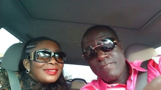 Captain Smart and Afia Pokuaa (Murphy's wife)
