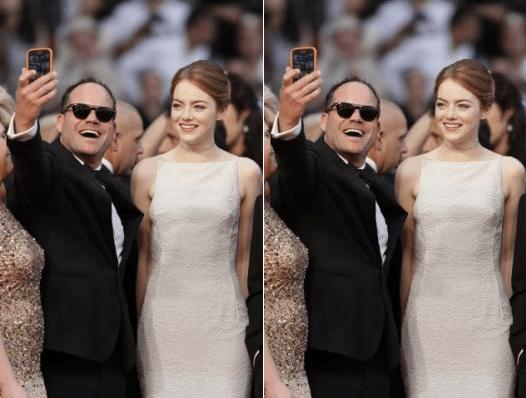 Man Flouts Cannes' No Selfie Guideline