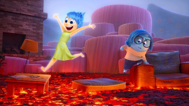 Inside Out-Joy and Sadness