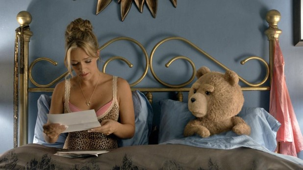 Jessica Barth and Ted
