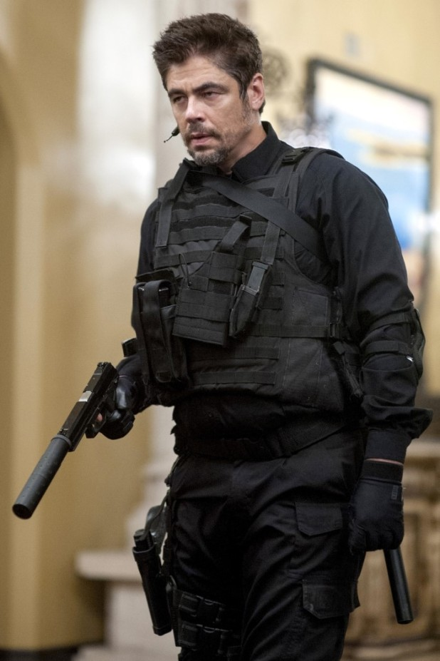 Benicio Del Toro as Alejandro in Sicario