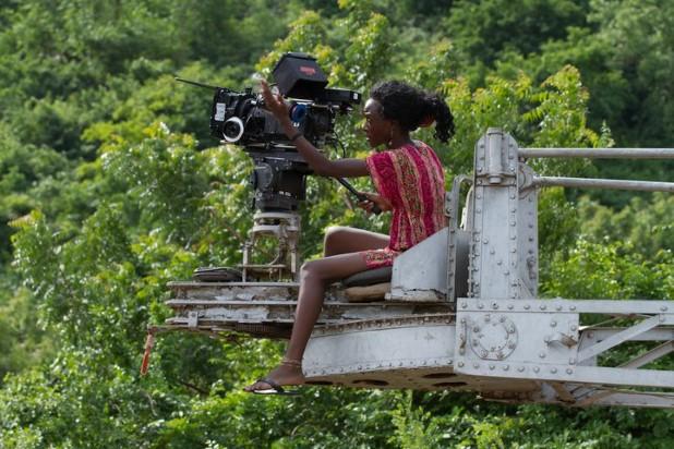 Film-maker Leila Djansi