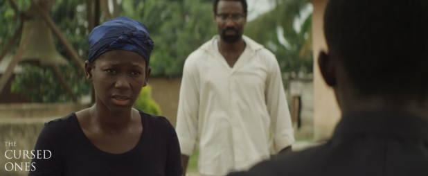 Ama K Abebrese in The Cursed Ones