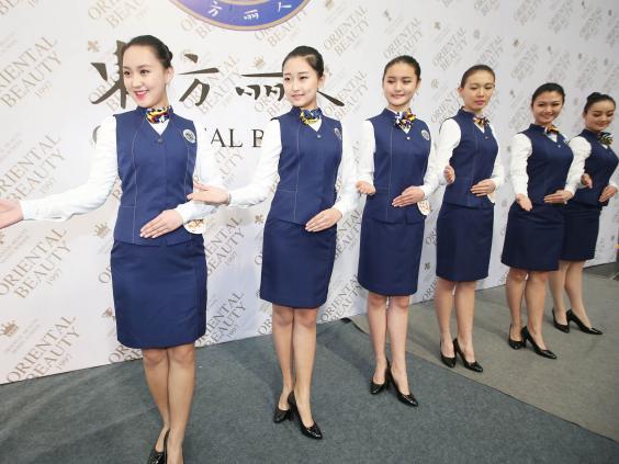 china-auditions-models-flight-attendants