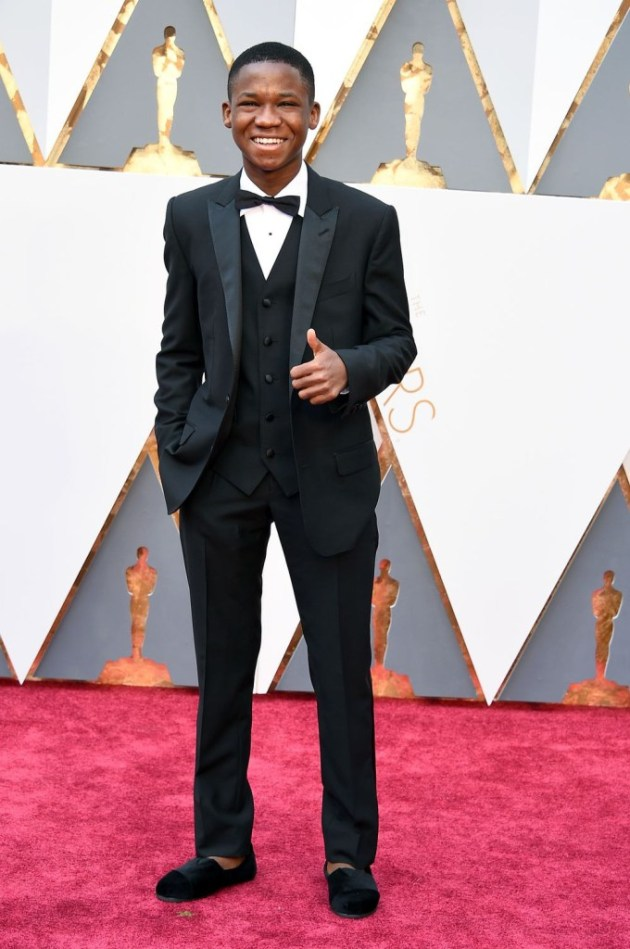 Abraham Attah at the 88th Academy Awards