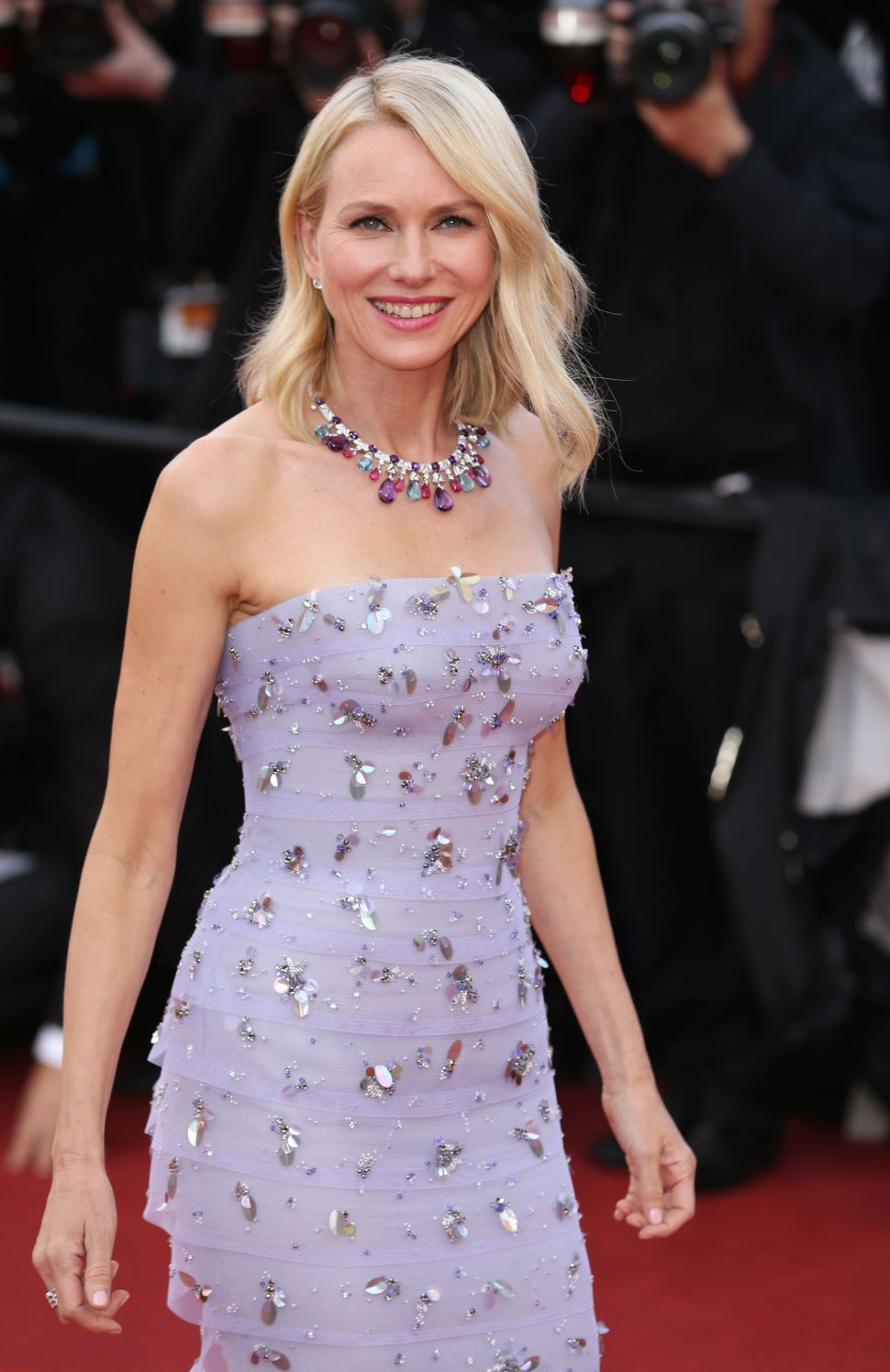 Mandatory Credit: Photo by James Gourley/REX/Shutterstock (5682158an) Naomi Watts'Cafe Society' premiere and opening ceremony, 69th Cannes Film Festival, France - 11 May 2016