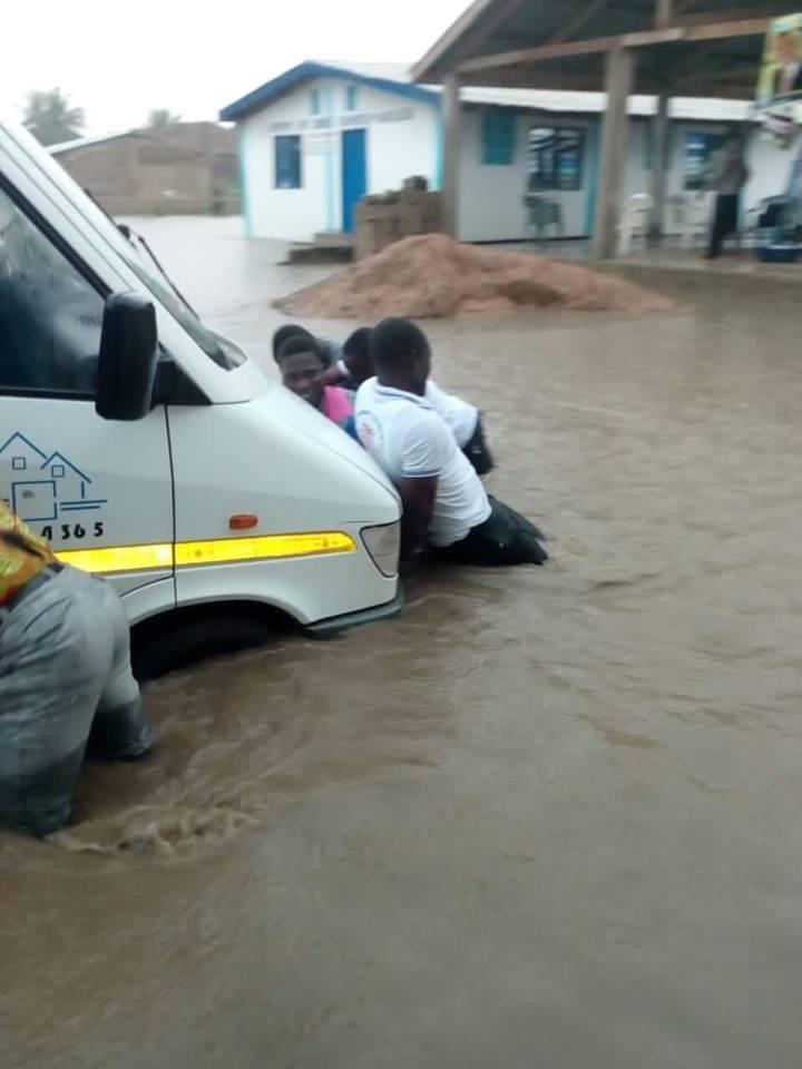 Rains in Accra