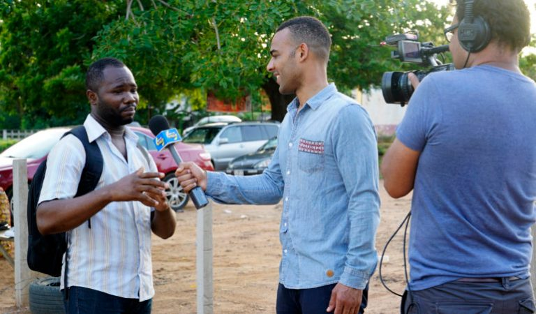 What's Up Africa's Host-Ikenna Azuike Talks About Shooting in Ghana, Why He Quit from Being A Lawyer to Become A Satirist, the Future of What's Up Africa & MORE