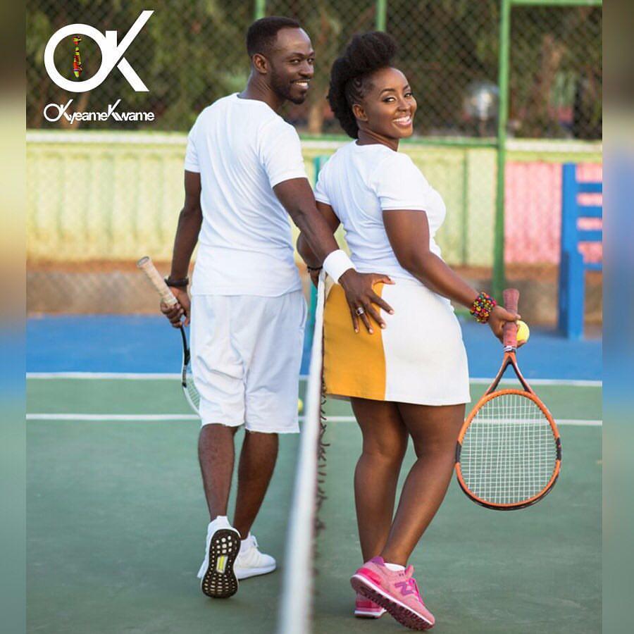 Okyeame Kwame and Wife