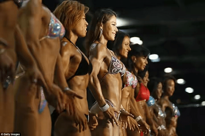 Muscular Women Gather In Hong Kong For The Arnold Classic Muscle Building Competition Ghanacelebrities Com