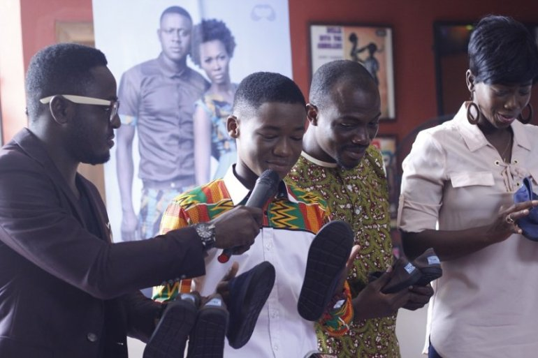 Attah at the press launch