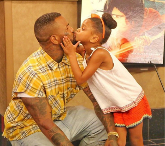 Rapper The Game Shares Adorable Picture With His Daughter Ghanacelebrities Com