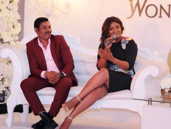 PHOTO: Actress Omotola And Husband Celebrate 23rd Marriage Anniversary
