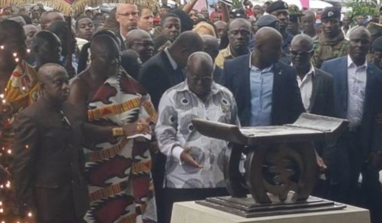 Two People Arrested In The Volta Region For Attempting To 'Juju' Nana Akufo-Addo And Otumfuo Osei Tutu II
