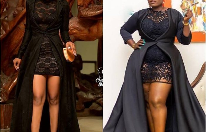 PHOTOS: Lydia Forson's Outfit At AFRIMA 2018 Was Inspired By Akuapem Poolo's Outfit At A Previously Held Event