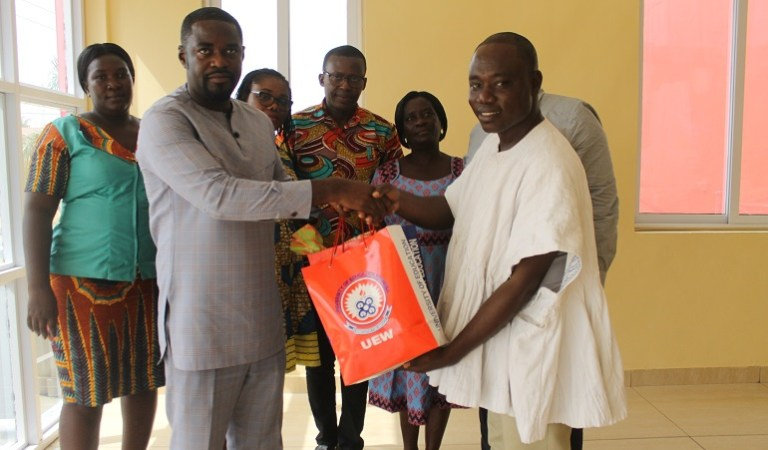 University of Education Winneba Pays Courtesy Call on Dr Adu Boateng of Endpoint Homeopathic Clinic