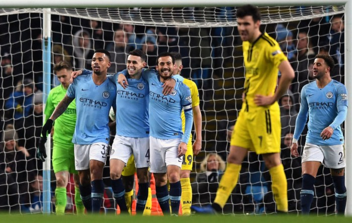 YAWA O — Manchester City TRASHES Burton Albion 9-0 In Carabao League Cup Semi-Final