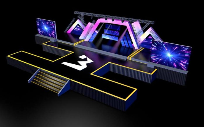 3music2 e1553521069930 - 3MUSIC AWARDS 2019: Check Out Mesmerising 3D Design Of The Stage – PHOTOS