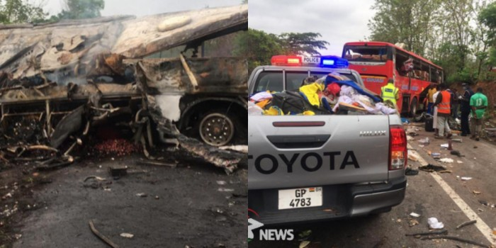 Ghana's Latest Deadly Road Tragedy — Close to 70 Dead in Ghastly Kintampo Accident