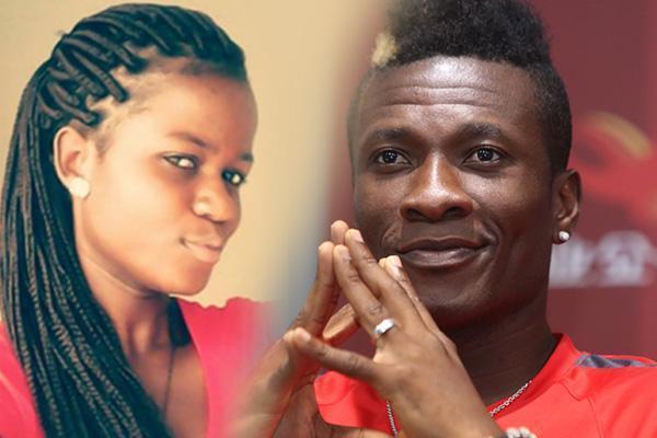 Sarah and Asamoah Gyan