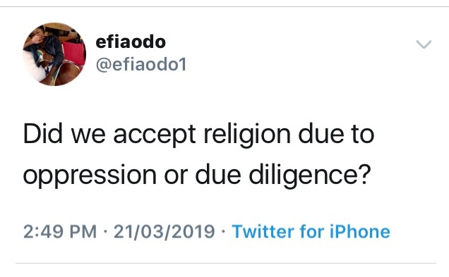 img 0464 - Did We Accept Religion Based on Oppression or Due Diligence? — A Response to Efia Odo by Rex Krampa