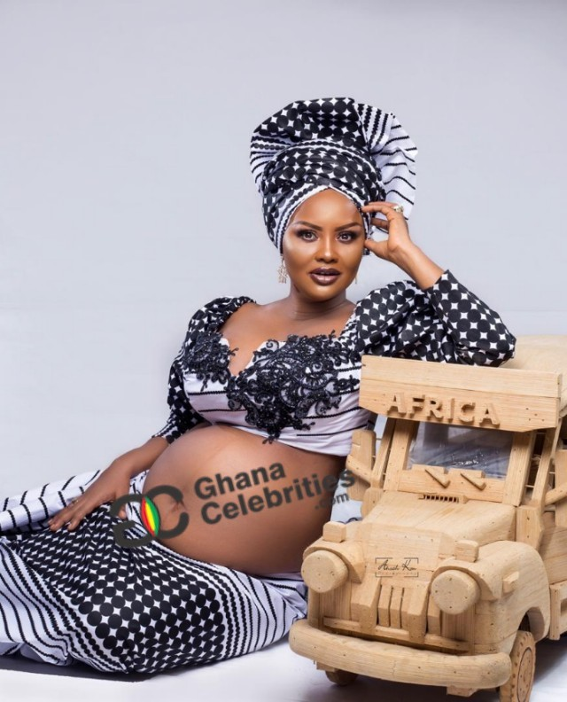 mcbrown1 2 - Check out Yet to Be Seen EXCLUSIVE PHOTOS of Nana Ama McBrown's Baby Bump — PHOTOS