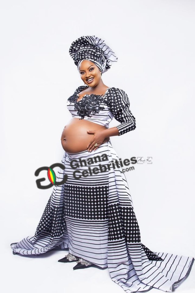 mcbrown3 1 - Check out Yet to Be Seen EXCLUSIVE PHOTOS of Nana Ama McBrown's Baby Bump — PHOTOS