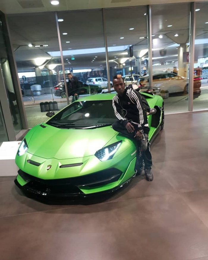 patapaa lamborghini e1552295196662 - PHOTO: Patapaa Buys A Brand New Lamborghini Car Worth $274,390?