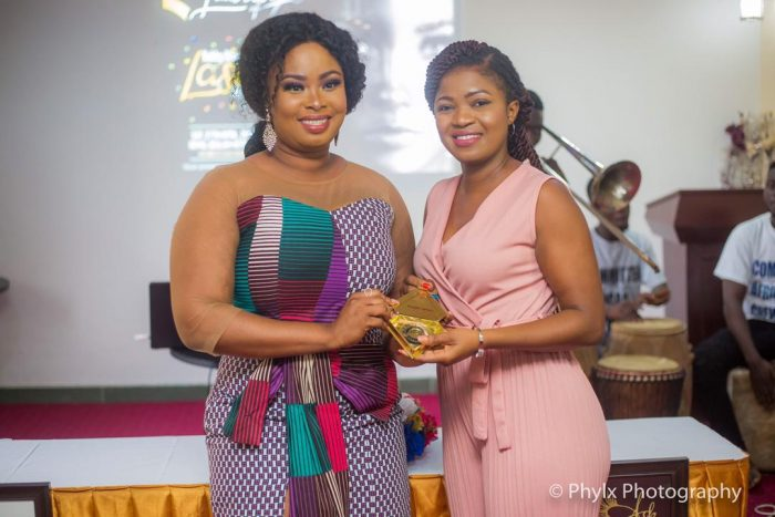 Rabby 4 e1556617116726 - PHOTOS: Actress Rabby Bray Launches Eyelash Brand For The Classy African Woman