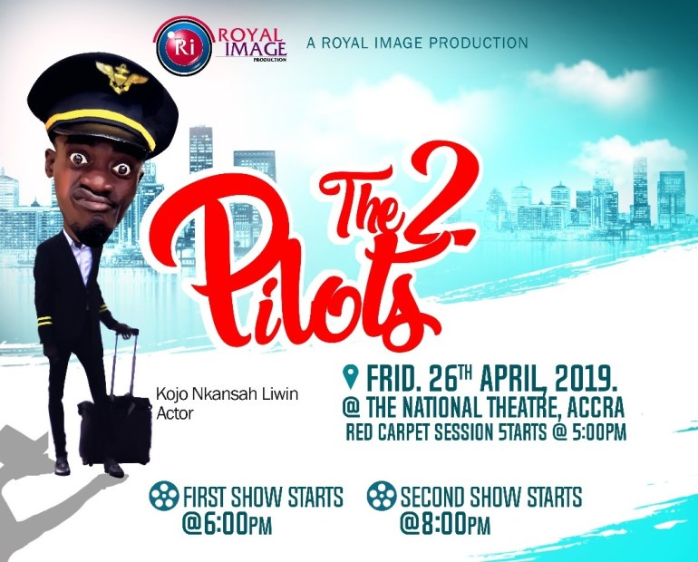 WhatsApp Image 2019 03 07 at 2.23.46 PM - 'The 2 Pilots': The Movie Shot With Lilwin and Kalybos as the Pilots to Premiere on Friday at the National Theatre
