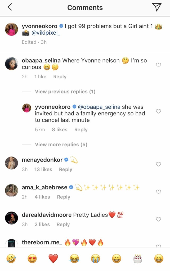 221750E2 4ADA 43D4 8BC3 A2B55A414A74 - Yvonne Nelson Was Nowhere to Be Seen At Her 'Bestie's' Wedding Ceremony — Find Out Why She Was A No-Show