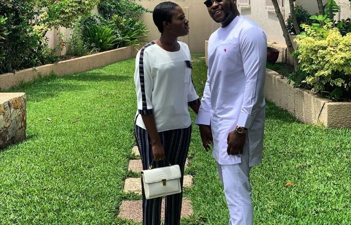 VIDEO – Medikal and Fella Makafui Spotted Together at the Premiere of KiDi's Movie 'Sugar' to Debunk Rumours of a Breakup