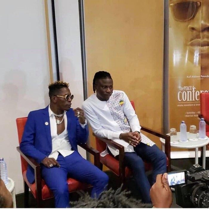 """Shatta Wale and I are on good terms now, but we are not friends"" – Stonebwoy Clarifies 2"