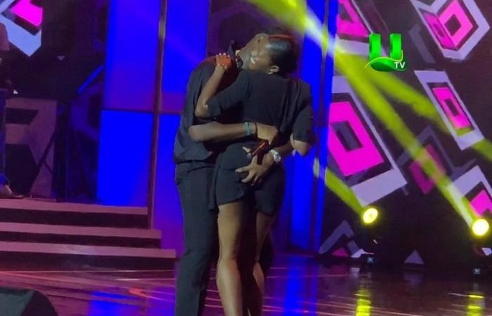 Medikal's Squeezing of Fella Makafui's Inflated Butt on Stage—An Aggressive Assault on Womanhood Or A Display of Modern Love?