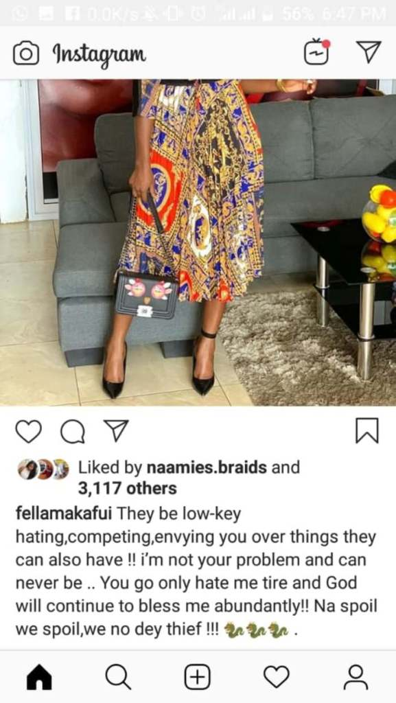 Fella Makafui 1 700x 1 - Fella Makafui Finally Agrees She Allowed Old Men To Use Her For Supper For Some Coins